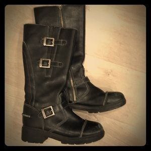 Authentic Genuine Harley Davidson leather boots
